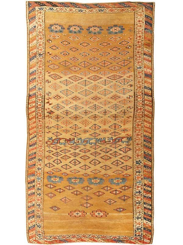23: Antique Kurdish Tribal Persian Rug / Carpet 42987