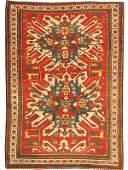 25 Antique Kazak Caucasian Rug  Carpet 43486