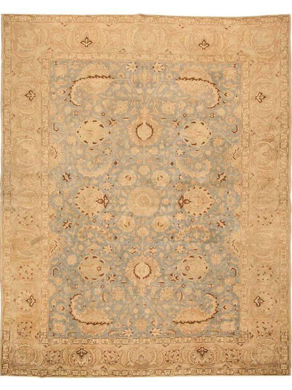 72: Antique Tabriz Persian Rug / Carpet 43068