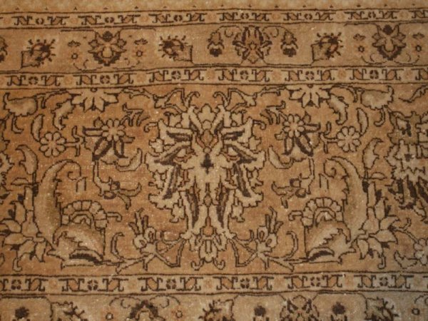 113: Antique Tabriz Persian Rug / Carpet 41516 - 5
