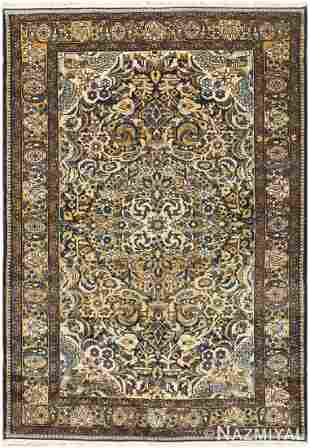 ANTIQUE MALAYER PERSIAN CARPET 7 ft x 4 ft 10 in