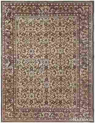 ANTIQUE TURKISH SIVAS RUG, 9 ft 7 in x 7 ft 3 in