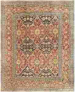 ANTIQUE PERSIAN KHORASSAN CARPET, 12 ft x 9 ft 9 in