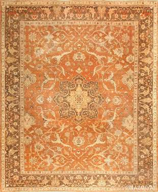 ANTIQUE INDIAN AMRITSAR RUG, 13 ft 3 in x 10 ft 8 in