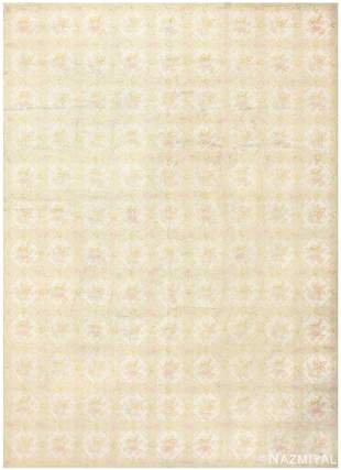 ANTIQUE AMERICAN HOOKED RUG, 12 ft x 8 ft 9 in