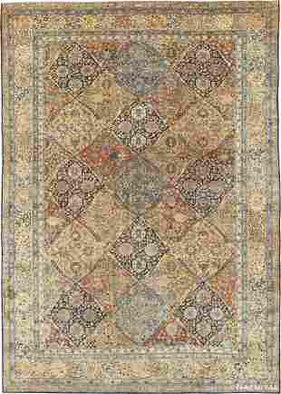 ANTIQUE PERSIAN KERMAN RUG, 18 ft 4 in x 12 ft 10 in