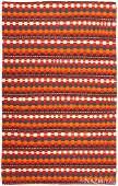 VINTAGE CAUCASIAN KILIM RUG, 9 ft x 5 ft 6 in