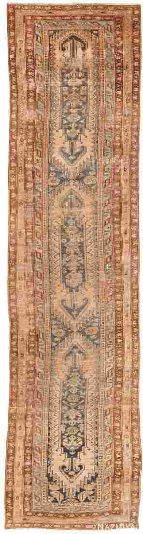 ANTIQUE PERSIAN MALAYER RUNNER RUG, 15 ft x 3 ft 10 in