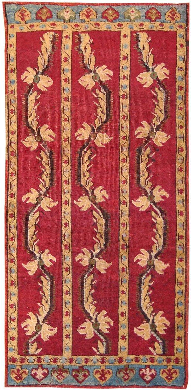 4: Antique Yastik Turkish Rug 2654