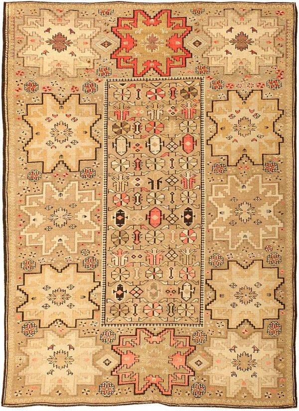 19: Antique Shirvan Caucasian Carpet 43309