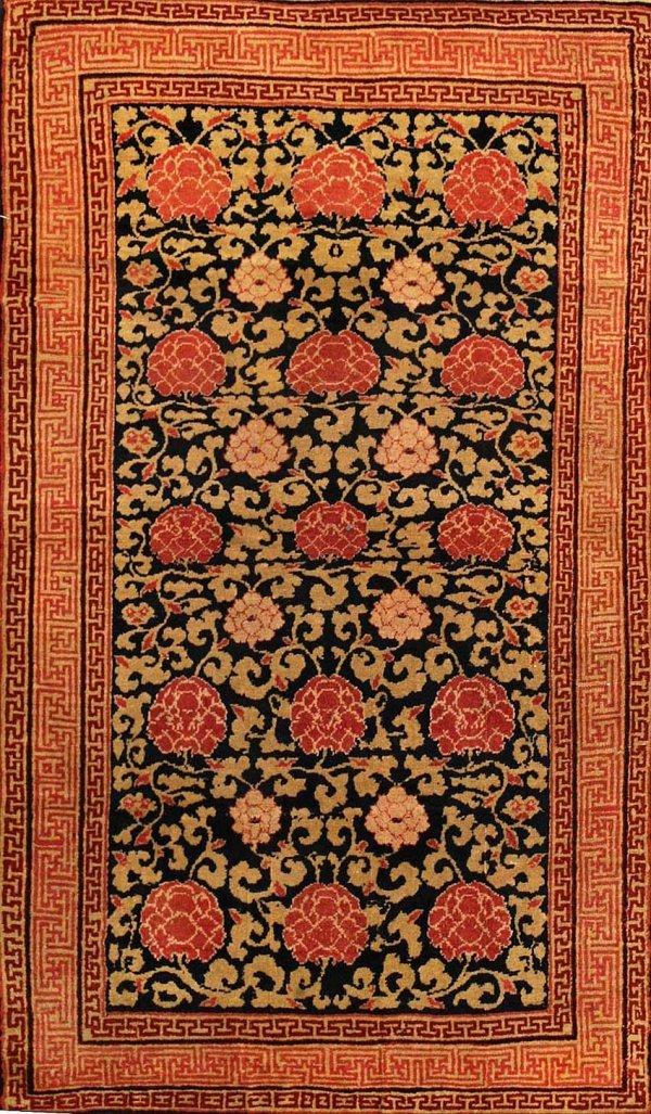 20: Antique Khotan Oriental Rugs 44100