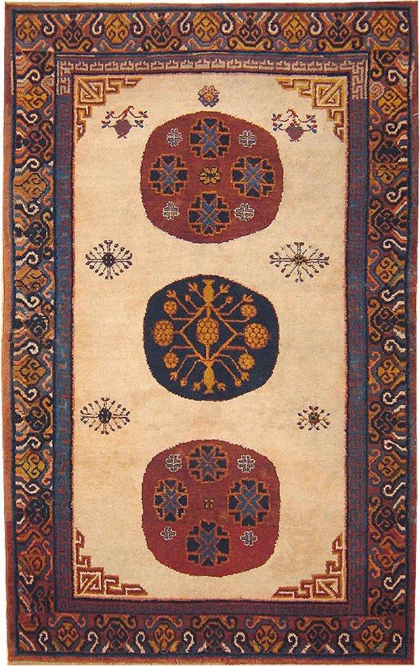 24: Antique Khotan Oriental Carpet 41839