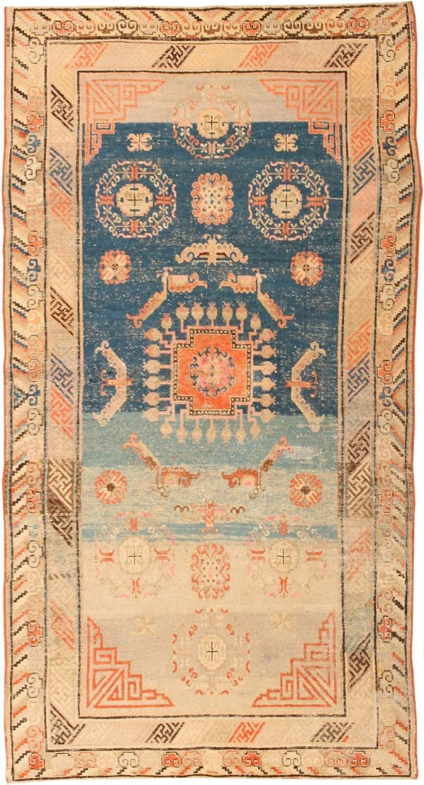 29: Antique Khotan Oriental Rug 41861