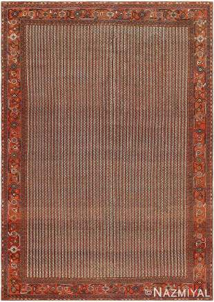 ANTIQUE PERSIAN AFSHAR CARPET.