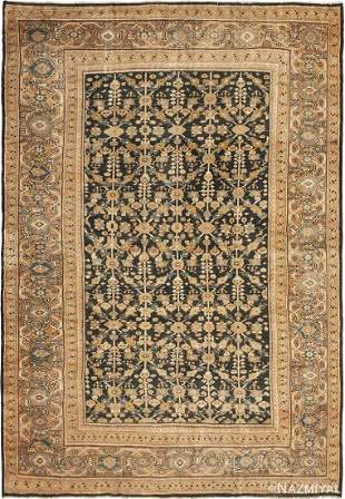 ANTIQUE PERSIAN SULTANABAD RUG.