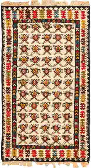 ANTIQUE SARKOY KILIM.