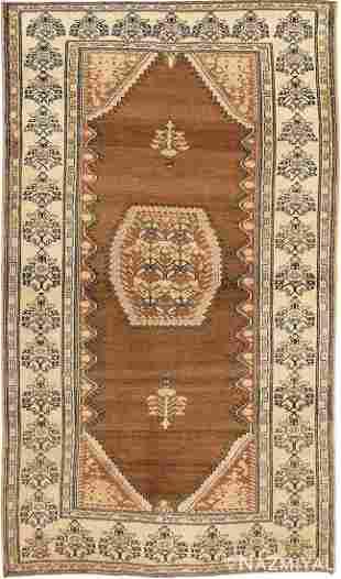 ANTIQUE PERSIAN MALAYER RUG.