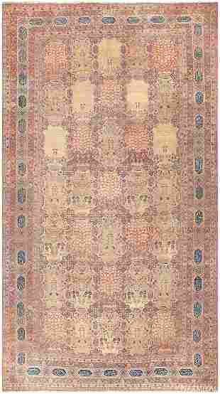 ANTIQUE PERSIAN KERMAN CARPET
