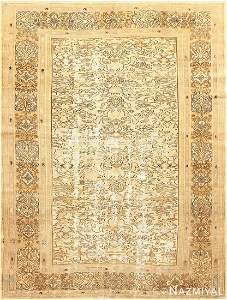 ANTIQUE PERSIAN BIBIKABAD SHABBY CHIC RUG