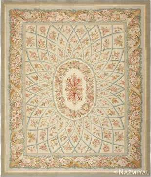 MODERN CHINESE AUBUSSON RUG.