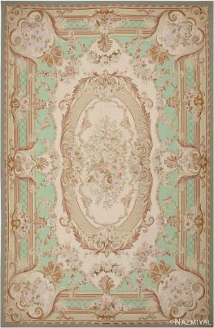 MODERN CHINESE AUBUSSON CARPET.