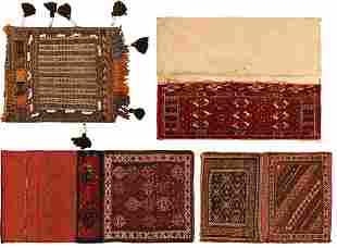 PERSIAN BALOUCH + CAUCASIAN TEKKE TORBA + PERSIAN