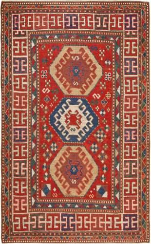 ANTIQUE KAZAK CAUCASIAN. 6 ft 9 in x 4 ft