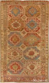 ANTIQUE KONYA TURKISH RUG. 5 ft 10 in x 3 ft 5 in