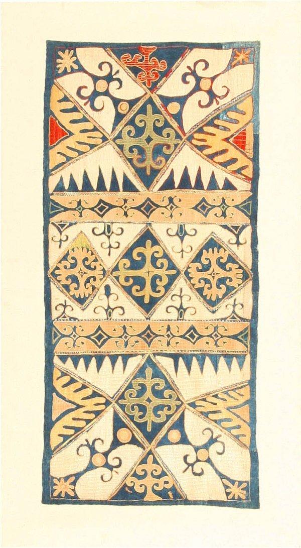 6: Antique Kaitag Embroidery, Circa 1900