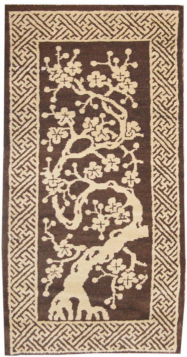7: Pair of Antique Peking Rug, Chinese, Late 19th centu