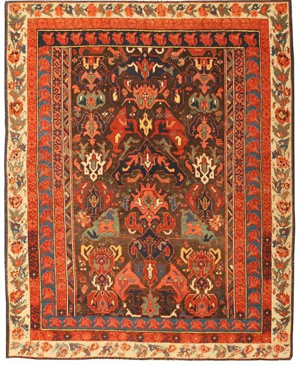 9: Seychour Caucasian Rug - Late 19th Century