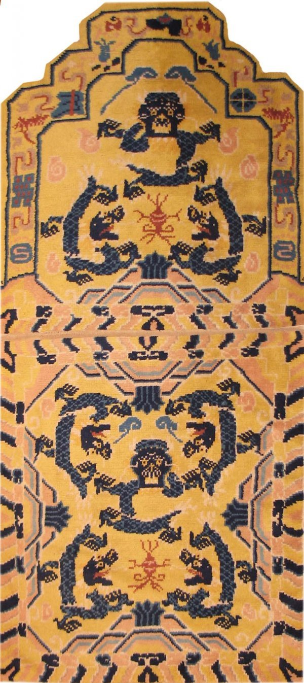 17: Antique Chinese Carpet, late 19th century