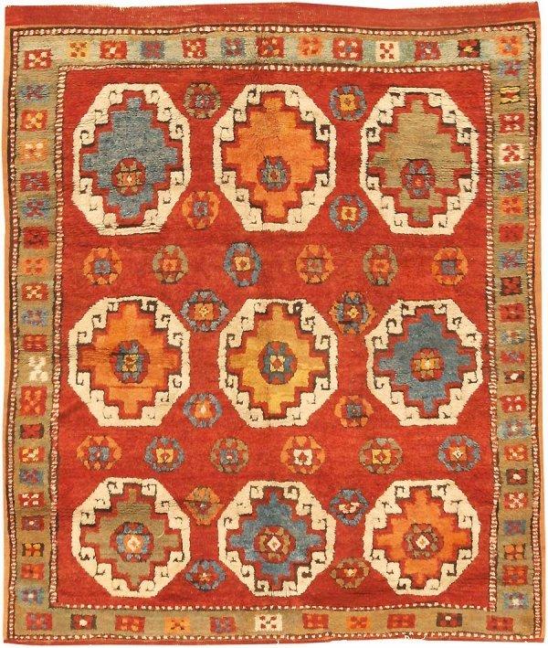 18: Antique Konya Rug, Turkey, Late 19h century