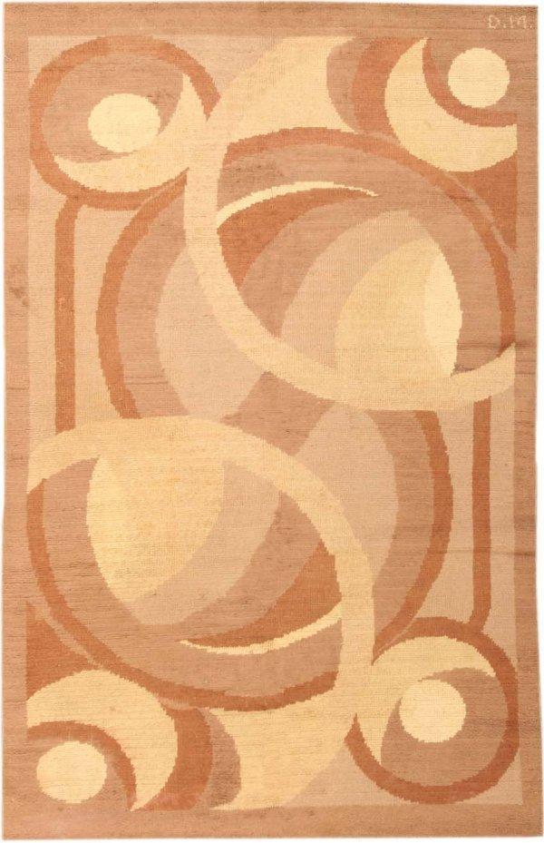 24:  Art Deco Carpet, circa 1920