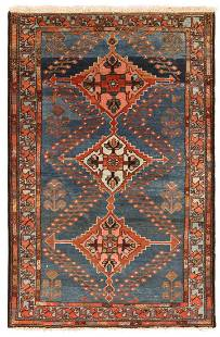 ANTIQUE PERSIAN MALAYER RUG - No reserve. 5 ft 3 in x 3