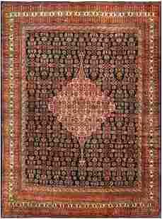 ANTIQUE FINE NORTHWEST PERSIAN CARPET
