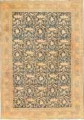 Fine Antique Tabriz Persian Mostofi Design Rug Carpet