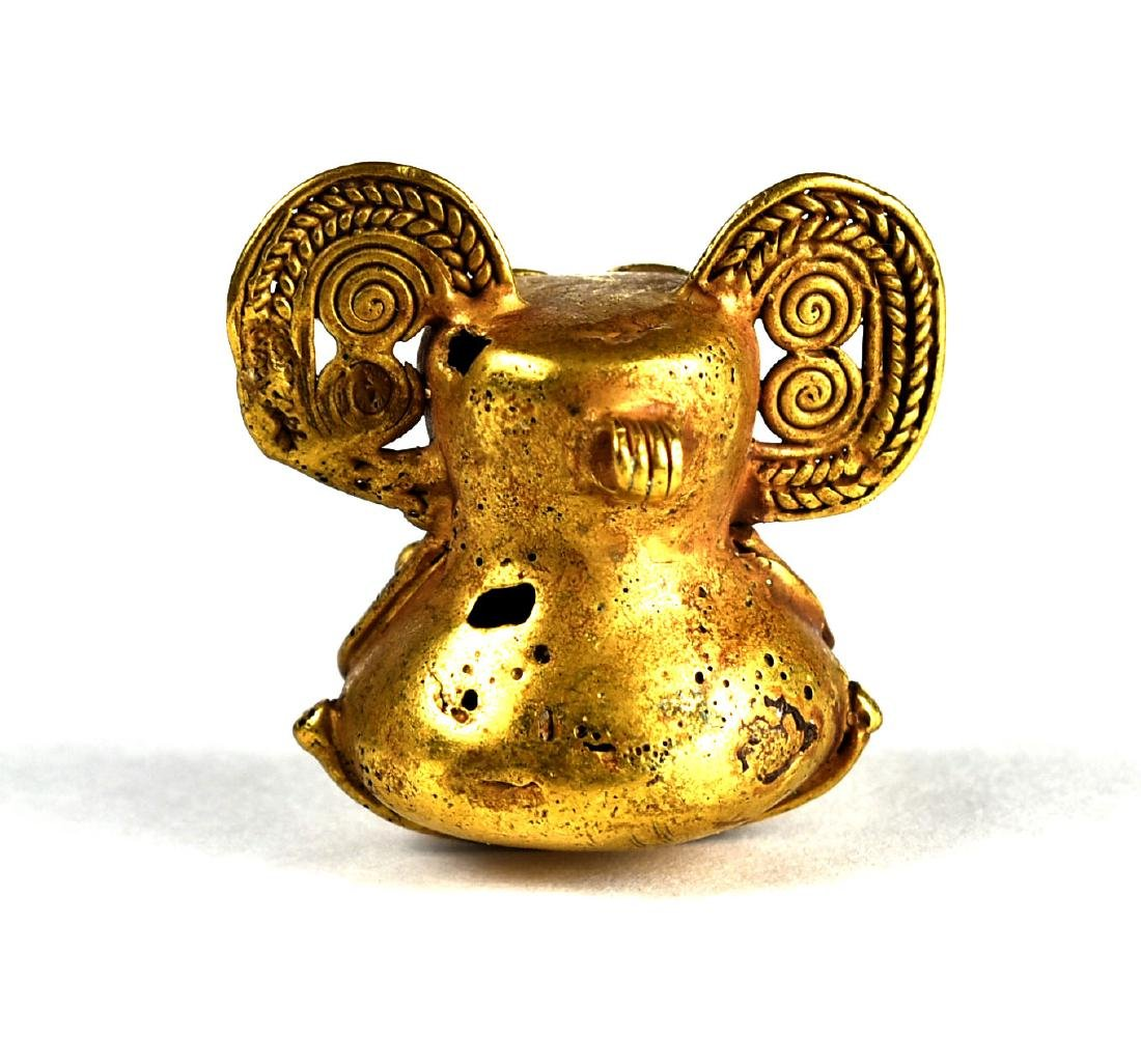 """1 7/16"""" Tumbago Gold Figurine - 2"""