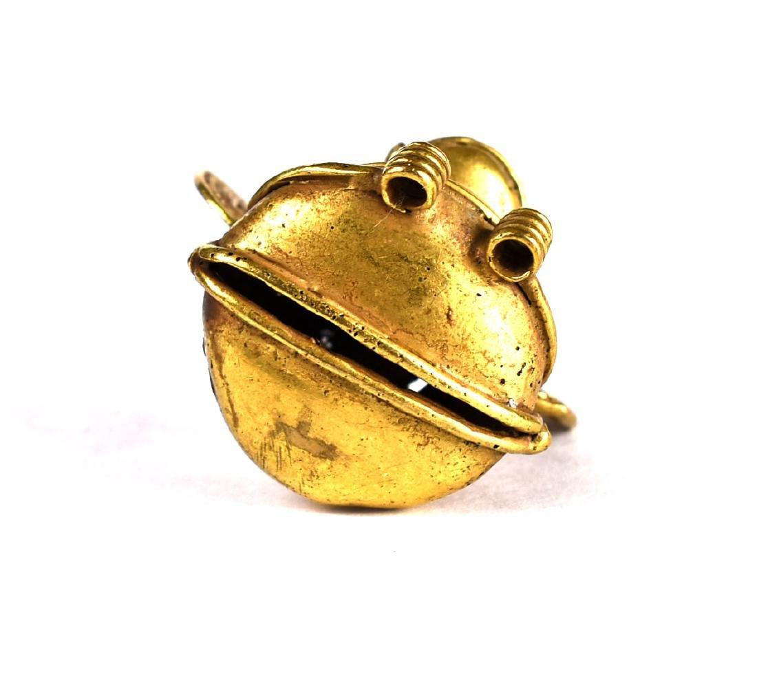"""1 7/16"""" Tumbago Gold Figurine - 3"""