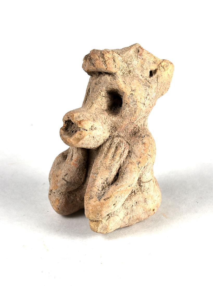 """2 3/8"""" PreColumbian Figurine - 2"""