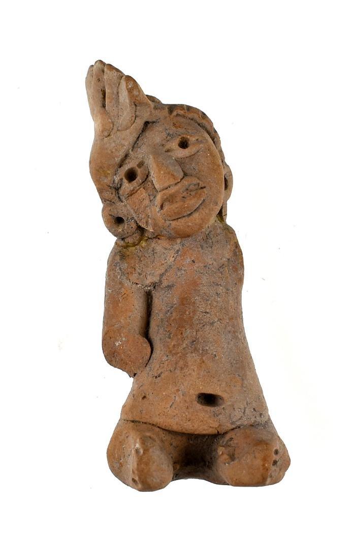 """3 1/8"""" Precolumbian Terracotta"""