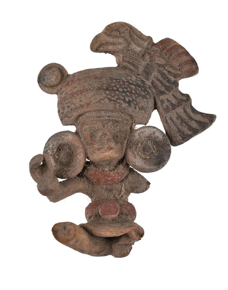"""3 7/8"""" PreColumbian Terracotta"""