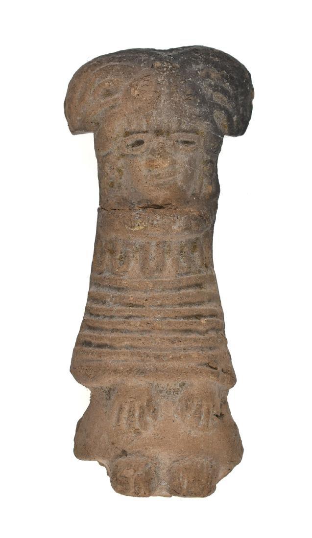 """4 1/16"""" PreColumbian Terracotta"""