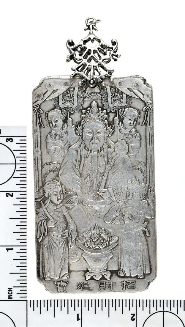 Awesome Chinese Silver Pendant