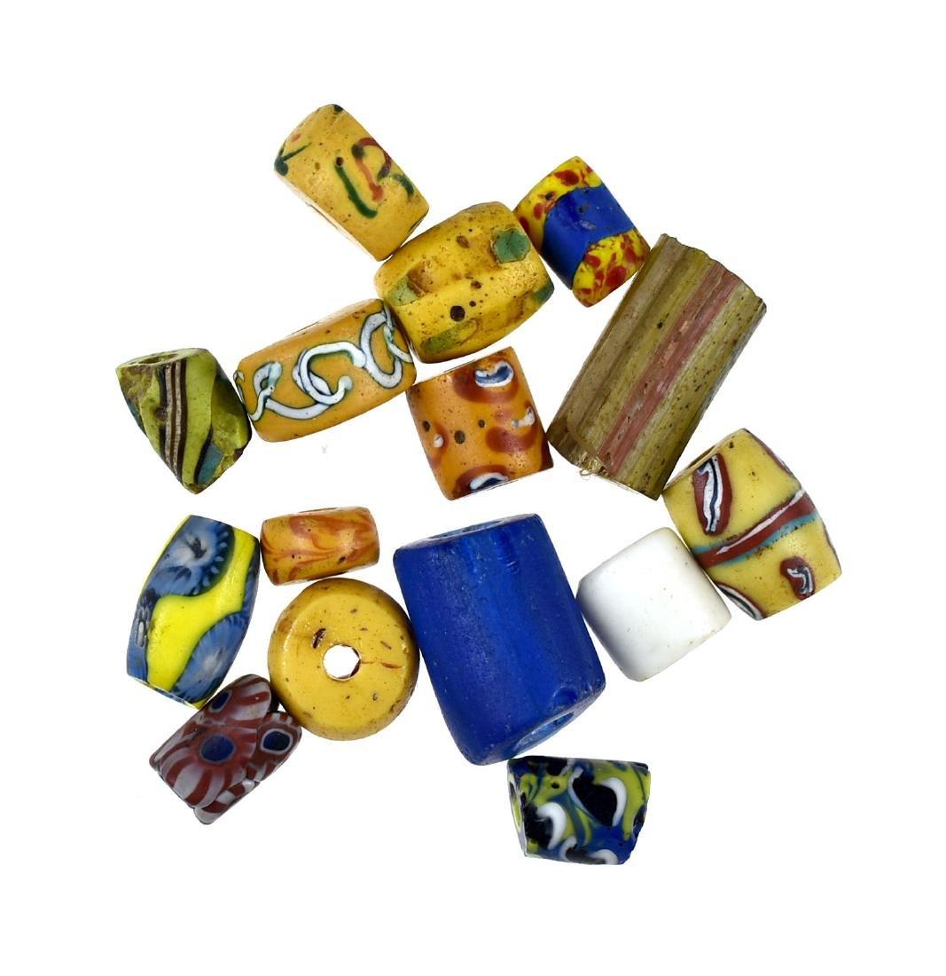 15 Fancy Trade Beads