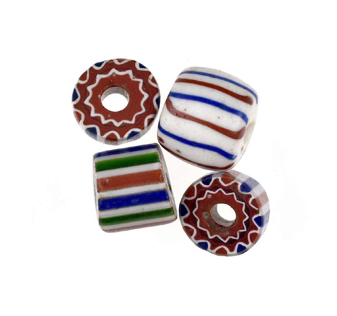 4 Chevron Beads