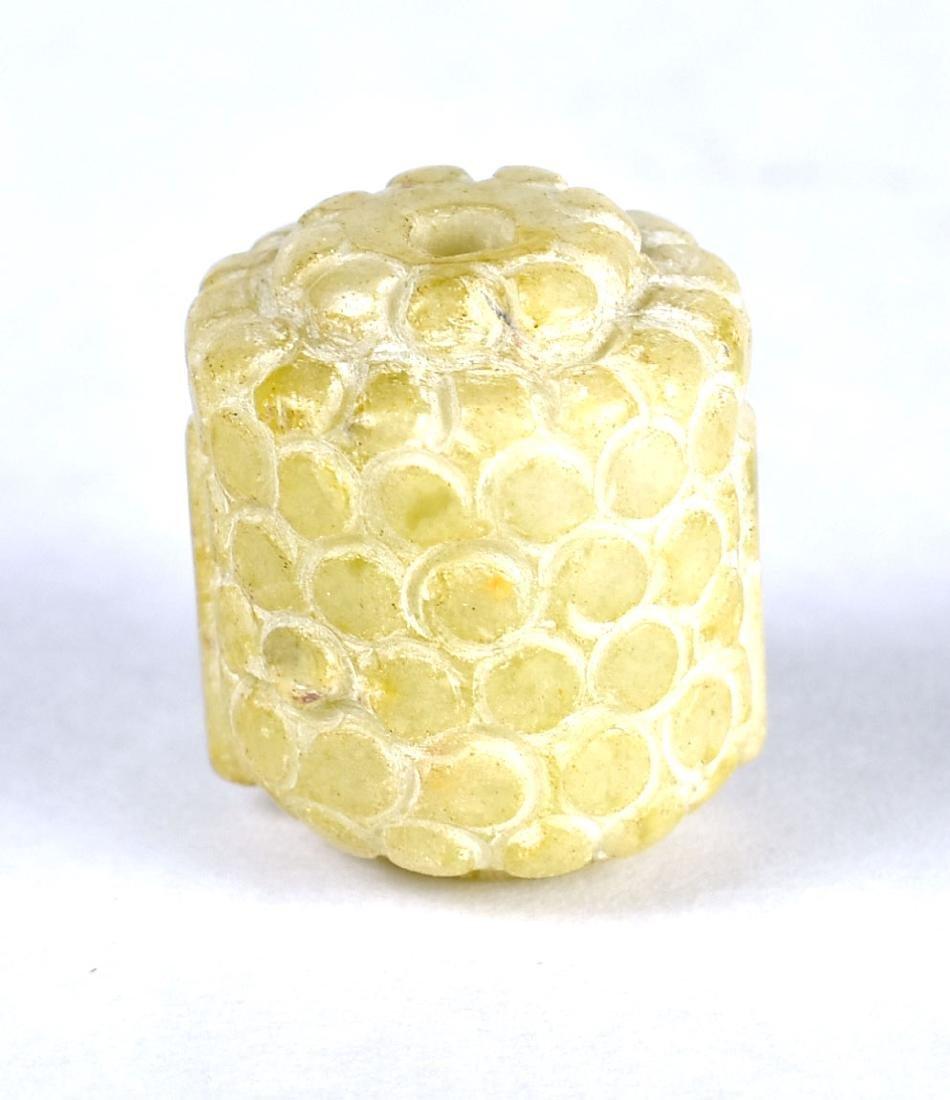 """1 1/8"""" Buddha Head Bead - 3"""