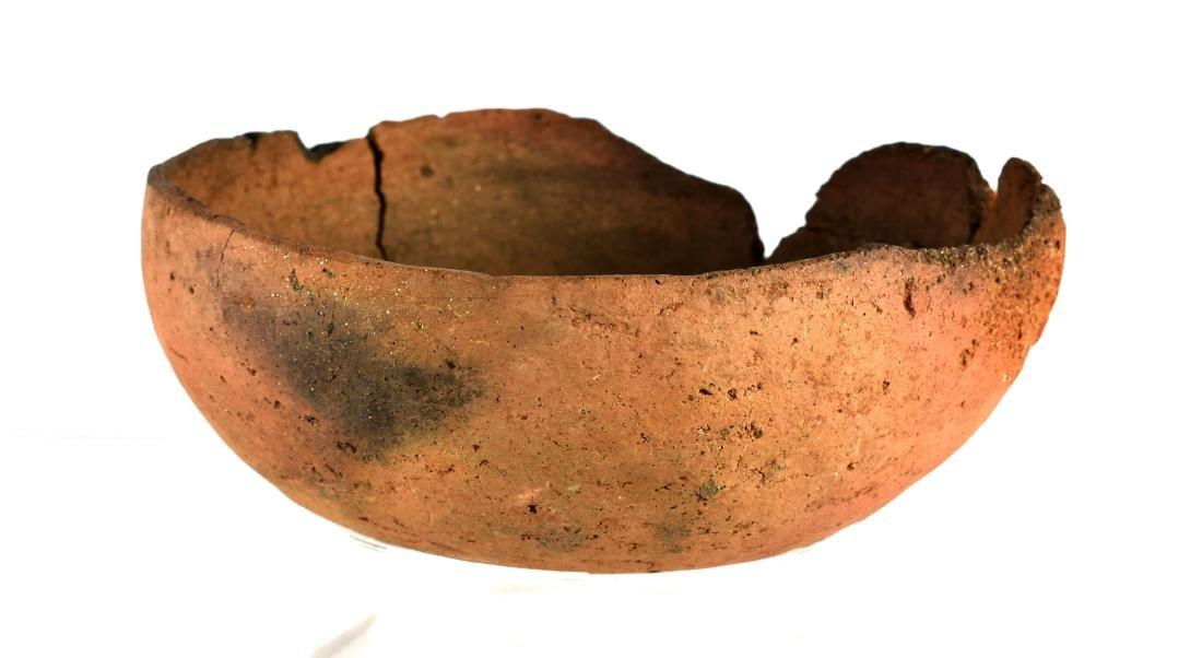 """7 1/2"""" Mogollon Kinishba Redware Bowl - 2"""