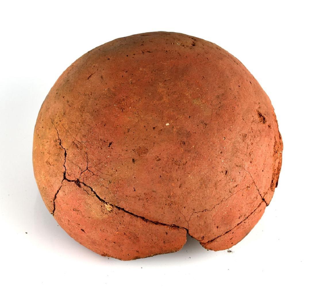 """7 1/2"""" Mogollon Kinishba Redware Bowl - 5"""