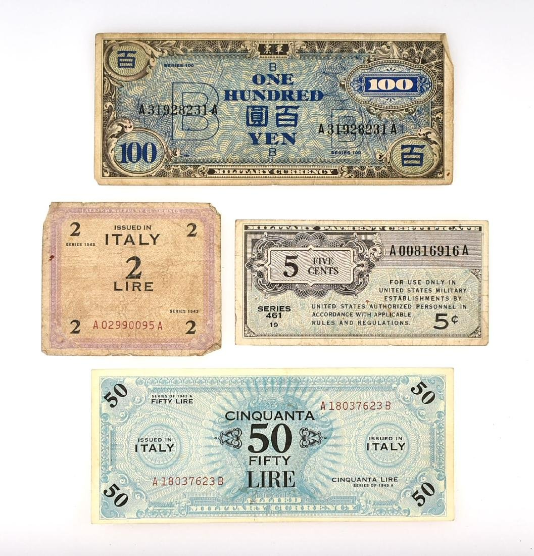 WW2 Military Currency